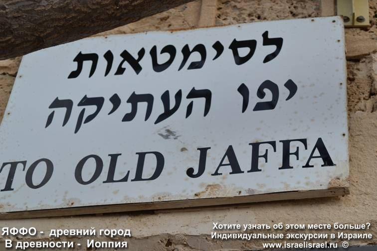 Заказать индивидуальную экскурсию по Яффо